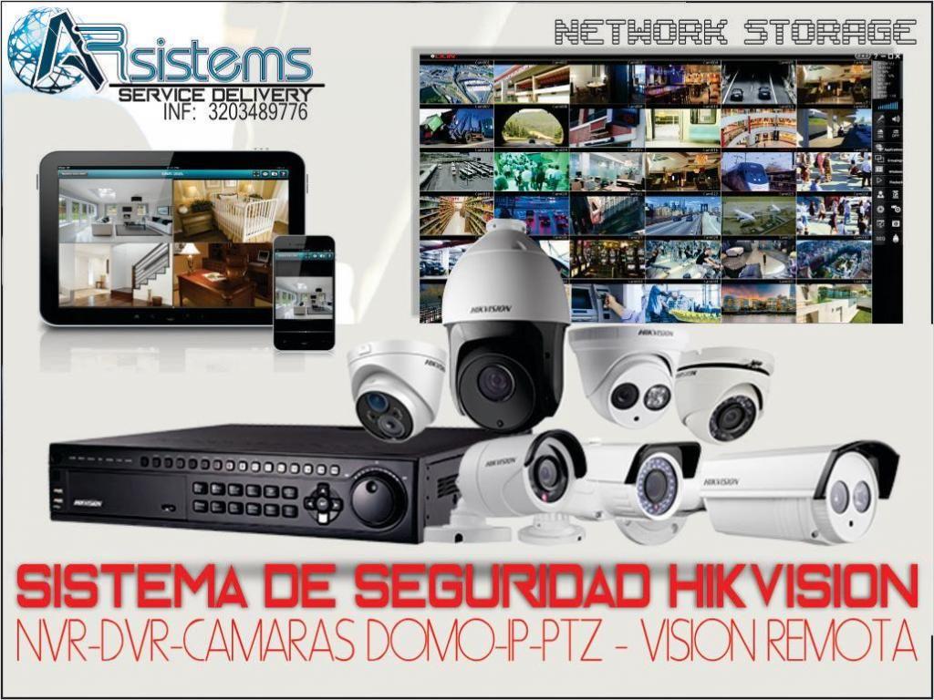venta e Instalación cámaras de seguridad -PTZ, DOMO, ETC