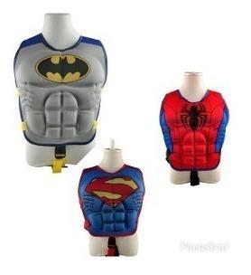 Chaleco Salvavidas Batman/superman/spiderman/hulk/iron Man