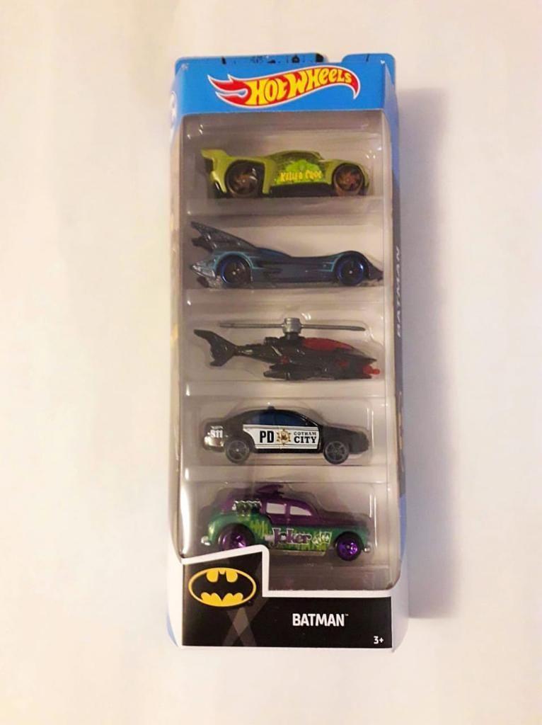 Hot Wheels - Batman Set de 5