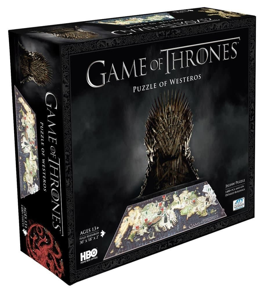 Rompecabezas Game Of Thrones 4d Westeros. Original Hbo