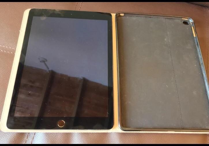 iPad Air 2 con error en la tarjeta