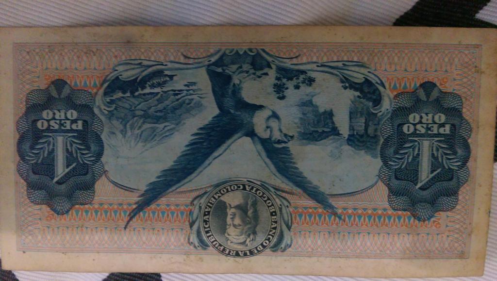 oferta colección de billetes de Colombia y otros paises