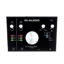 INTERFAZ DE AUDIO M-AUDIO M-TRACK 2X2