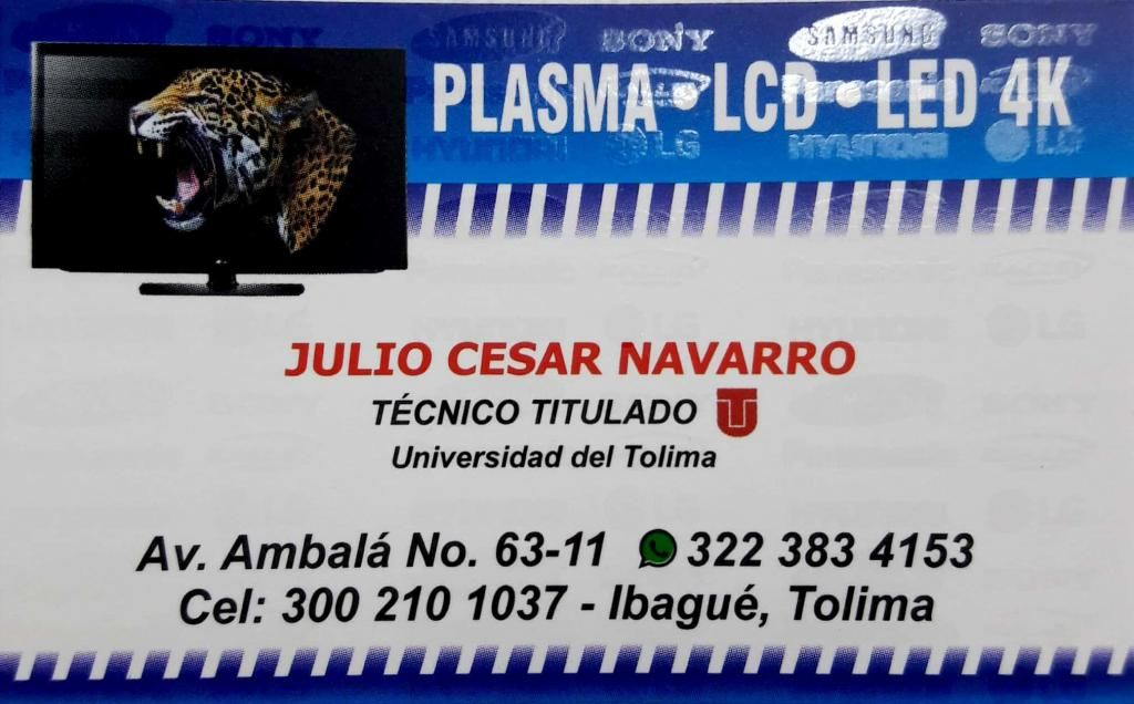 REPARACION DE TELEVISORES PLASMA LED Y LCD
