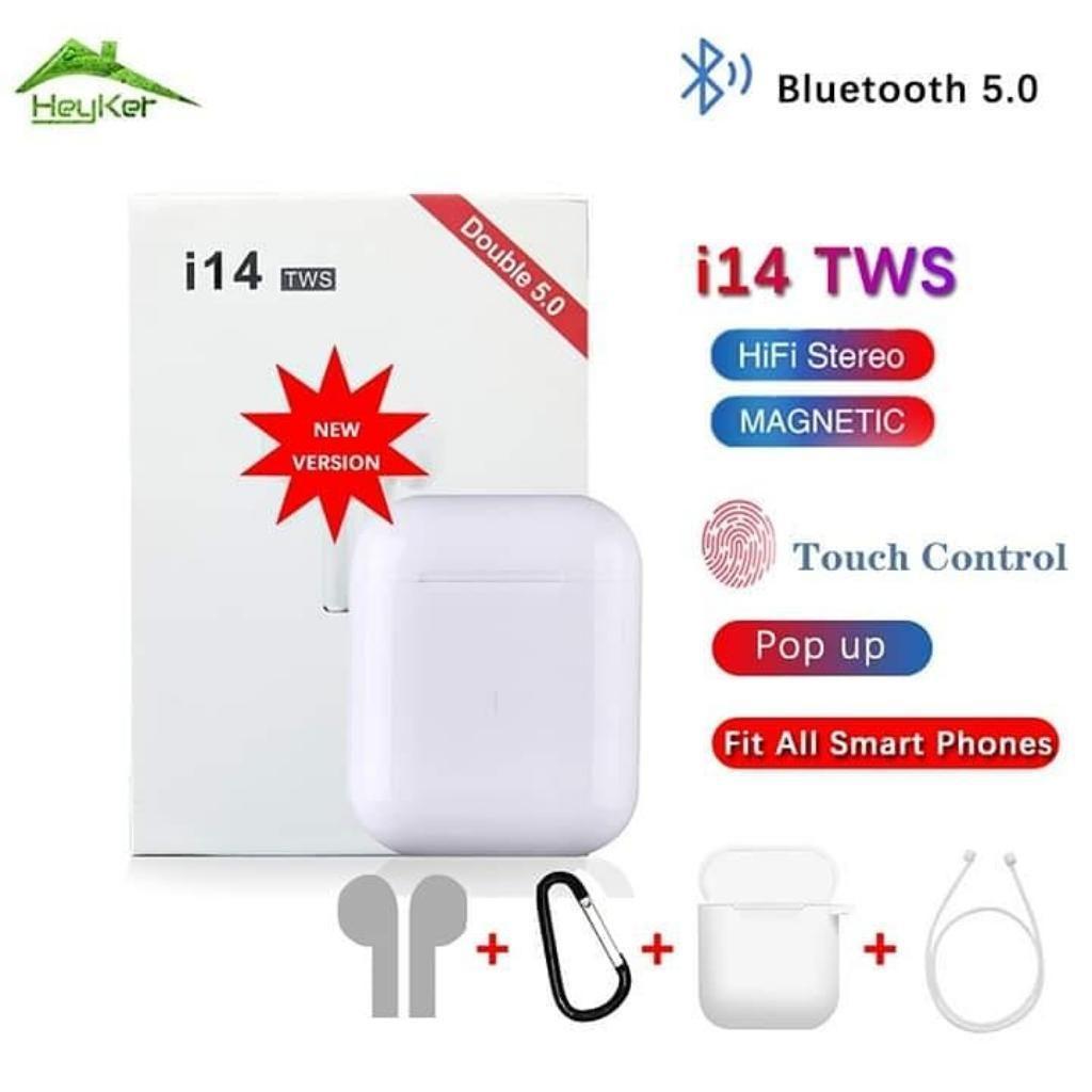 Tws I14 Audífonos Inalambricos Bluetooth