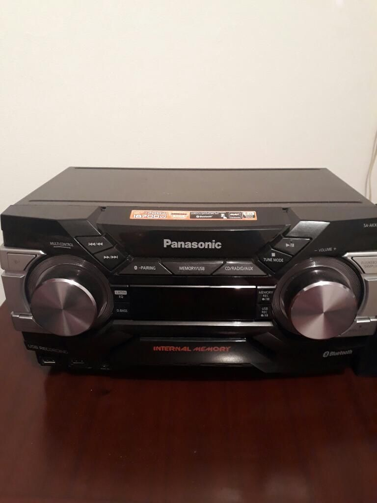 Vendo Equipo Sonido Panasonic Sakx660