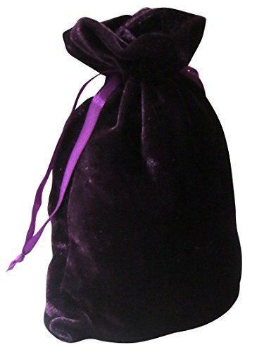 Bolsas De Tarot Terciopelo De Lujo Púrpura 6 X 9