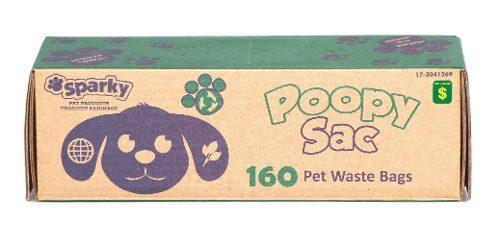 Bolsas Excremento Mascotas Popo De Perros X 160 Ref.3041269