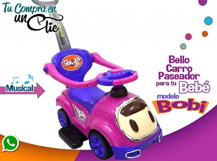 Carro Paseador para tu Bebé, con ruedas 360 grados 7 meses
