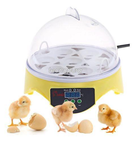 Incubadora Automática 7 Huevos Y Control Digital