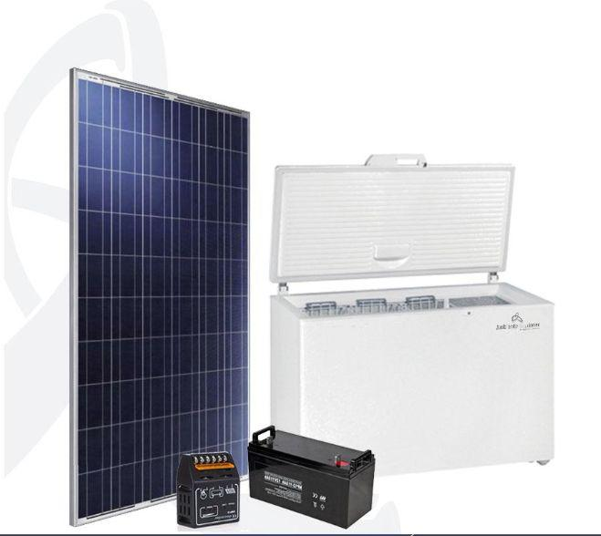 Lámparas de Energía Solar, Congeladores