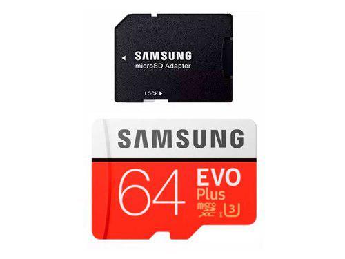 Tarjeta Samsung Evo Memoria Micro Sd 64 Gb Clase 10