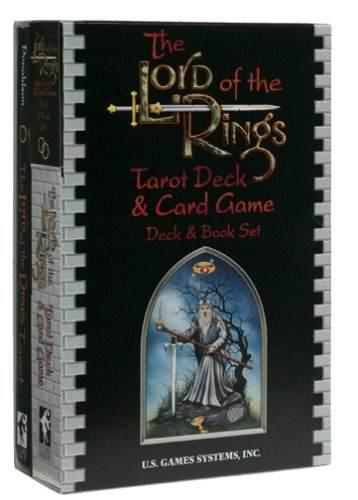 The Lord Of The Rings Tarot Deck Y Juego De Cartas Deck Y Bo