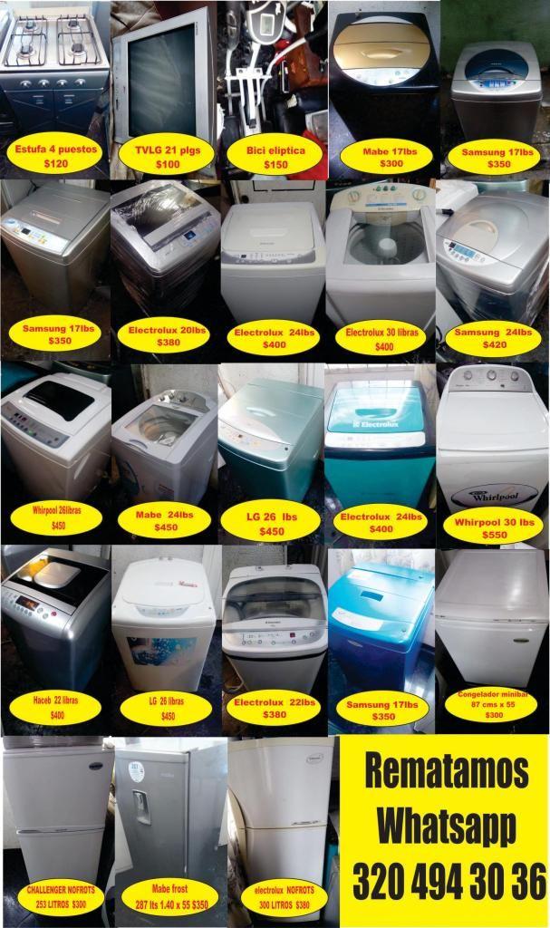 lavadoras y neveras wasatp