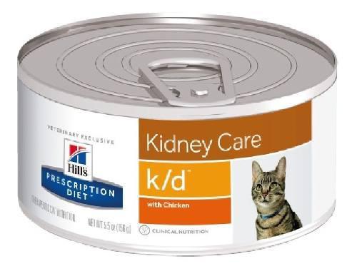 Alimento Para Gato En Lata K/d Hill's Adultos Todas Las Raza