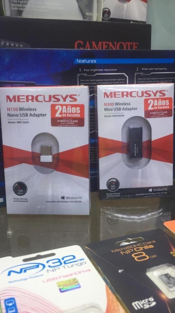 ADAPTADOR USB WIFI 150MB MERCUSYS