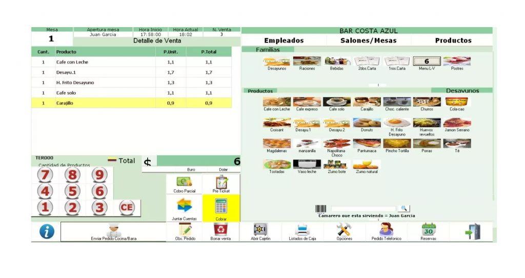 Software Facturacion Pos Control Inventario Bar Restaurante