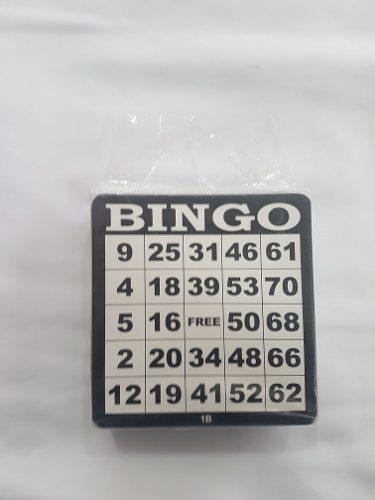 100 Tablas De Bingo En Carton