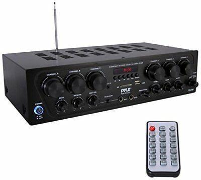 Amplificador De Audio Para El Hogar Bluetooth, 6 Canales Si