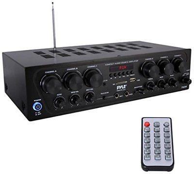 Amplificador De Audio Para El Hogar Con Bluetooth, 6 Canale