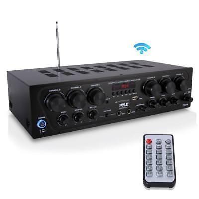 Amplificador De Audio Para El Hogar Con Bluetooth, Receptor