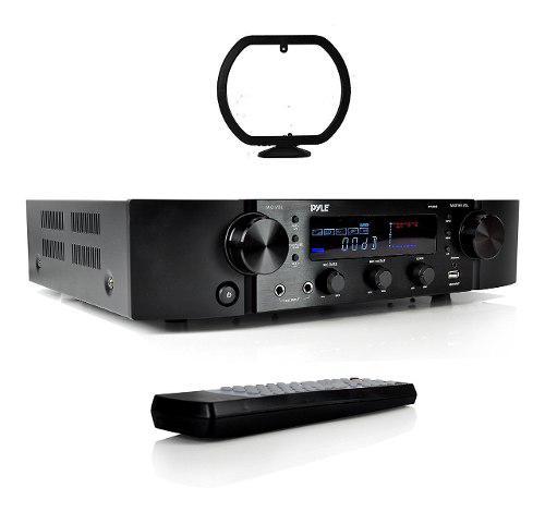 Amplificador De Audio Pyle Bluetooth, Fm, Usb, Aux 2000 Watt