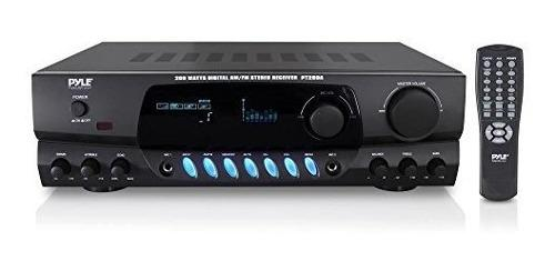 Amplificador De Potencia De Audio Para El Hogar Pyle 200w -