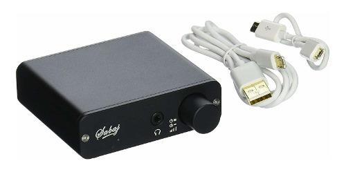 Audio D Audio Dac Con Amplificador De Auriculares Colo...
