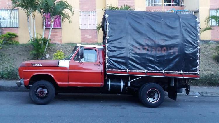 Camión tres medio Ford modelo 70, Papeles al día listo