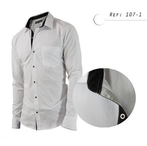 Camisa De Hombre Informal, Manga Larga