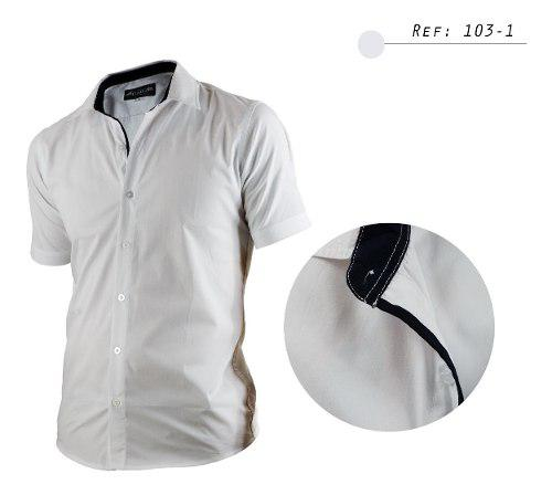 Camisa De Hombre Informal,casual, Manga Corta