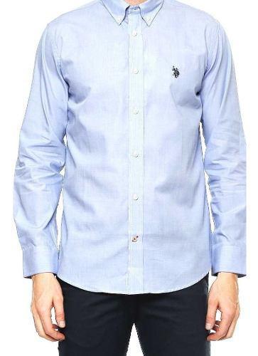 Camisas Polo Us Polo Assn Original Azul Blanco