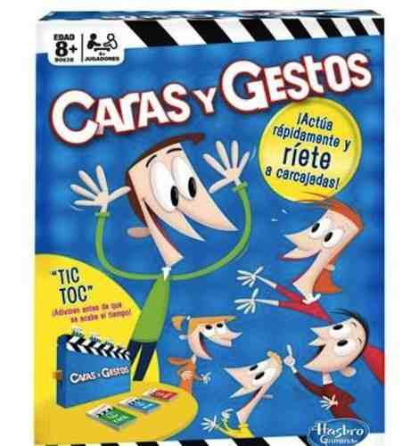 Caras Y Gestos Hasbro B0638 Juego De Mesa