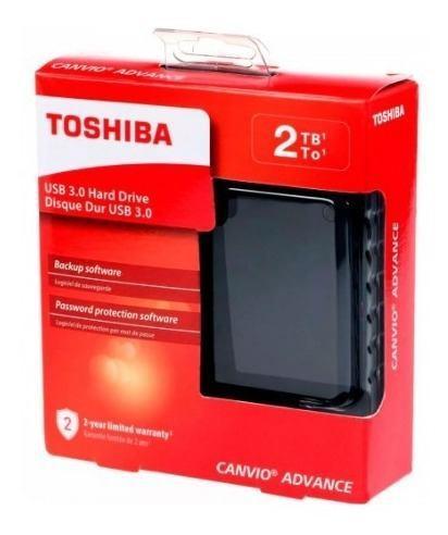 Disco Duro Externo Toshiba 2tb Canvio Basic Tamaño 2,5