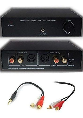 Iboost 800 Stereo Line Level Amplificador De Audio Booster A