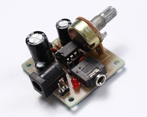 Kit Para Armar Amplificador De Audio Lm386