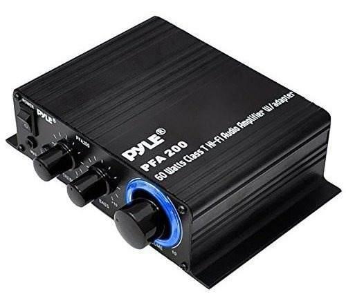 Mini Amplificador De Audio Para El Hogar Pyle - Receptor Por