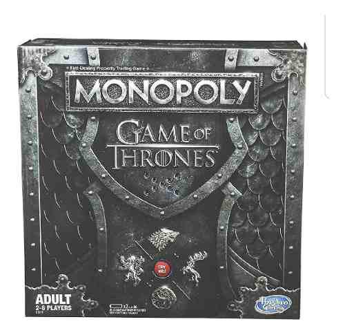 Monopoly Version Games Of Thrones Entrega Inmediata
