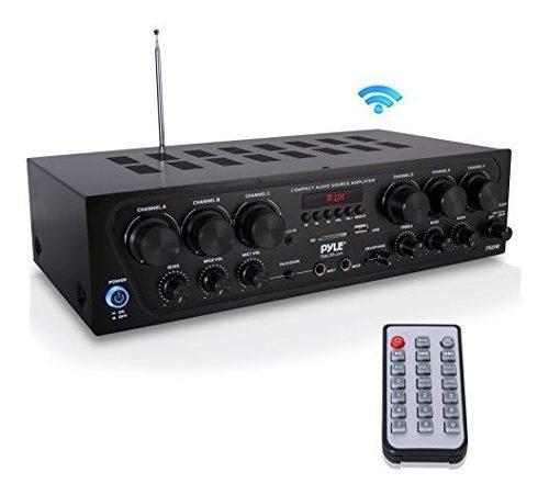 Sistema De Amplificador De Audio Para El Hogar Bluetooth - A