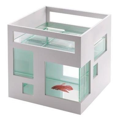 Umbra Fishhotel Mini Aquarium Ideal Para Goldfish Bettas Y O