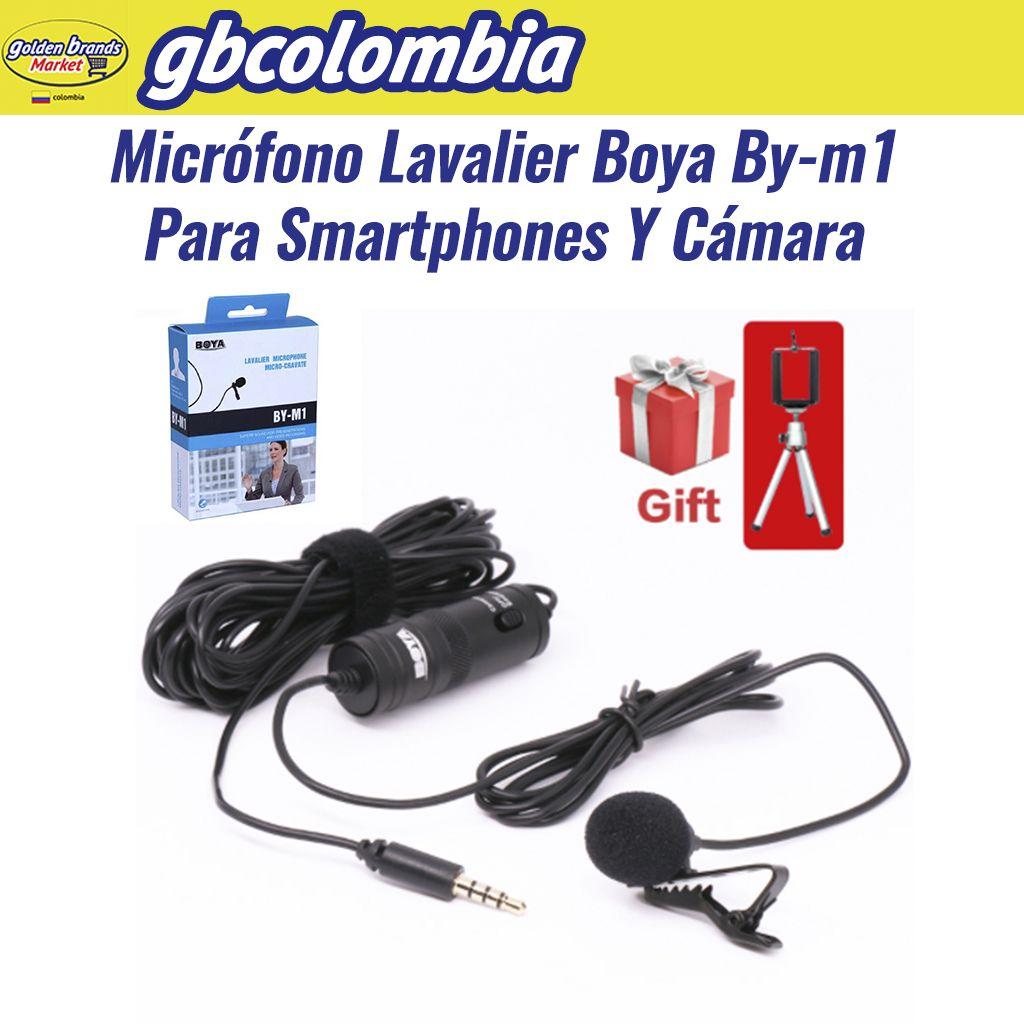 Boya ByM1 Microfono Solapa Lavalier Celular Y Camara