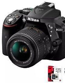 Camara Nikon D Kit  sd32gb