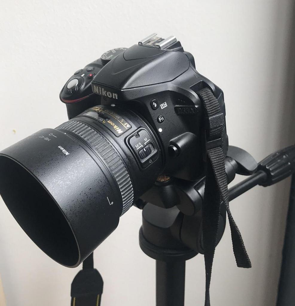 Camara Nikon D Lente Nikkor 50Mm