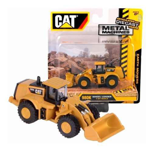 Cargador Caterpilar Cat 980k Esc: 1:94 Die Cast