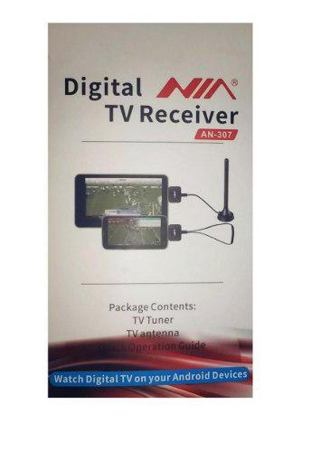 Decodificador Tdt Celular Y Tablet Nia Android + 2 Antenas