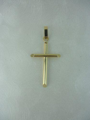 Dije Cruz En Oro 18k Ref: 28573