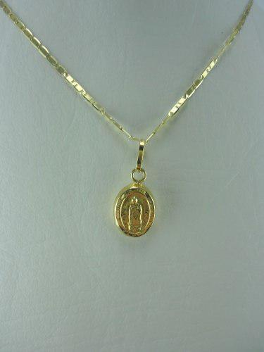 Dije Oro 18k De Virgen Guadalupe Ref: 27610