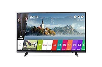 TV LG DE 43 PULGADAS 4K