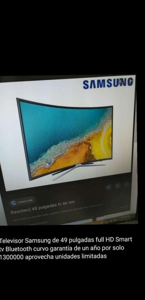 Televisor Samsung 49' Full Hd Smar Tv