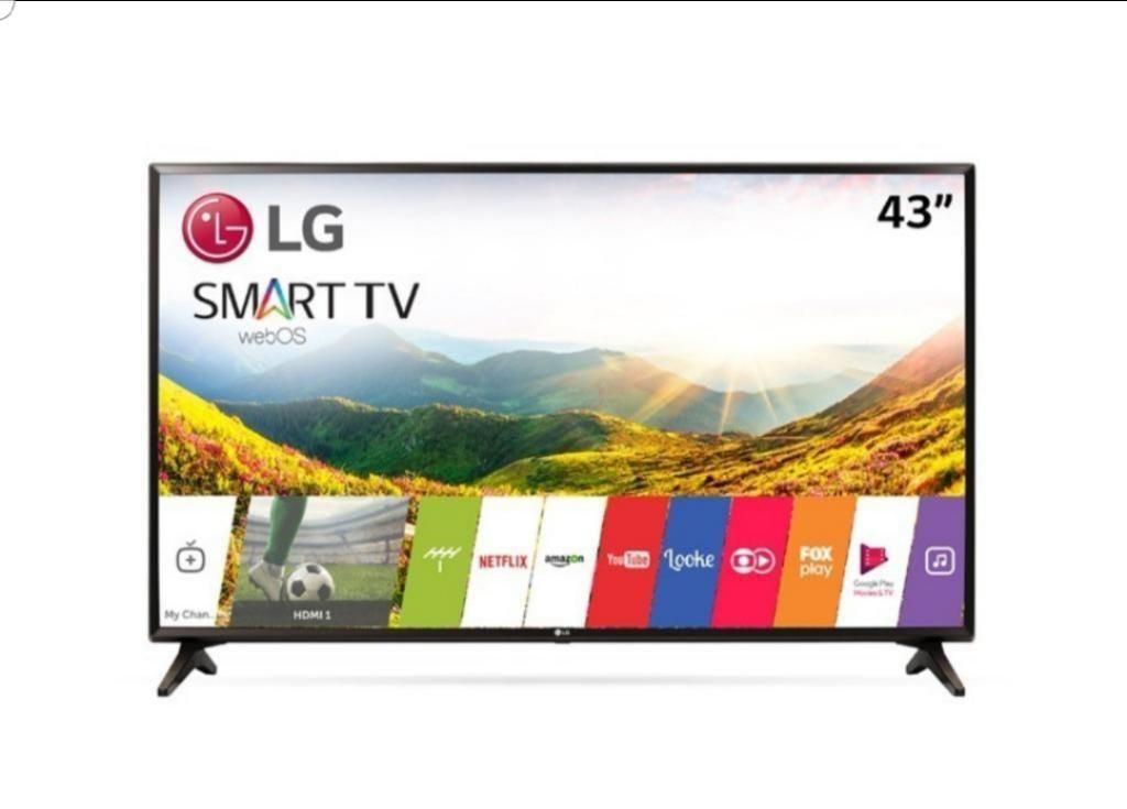 Televisor de 43 Pulgadas Lg Smart